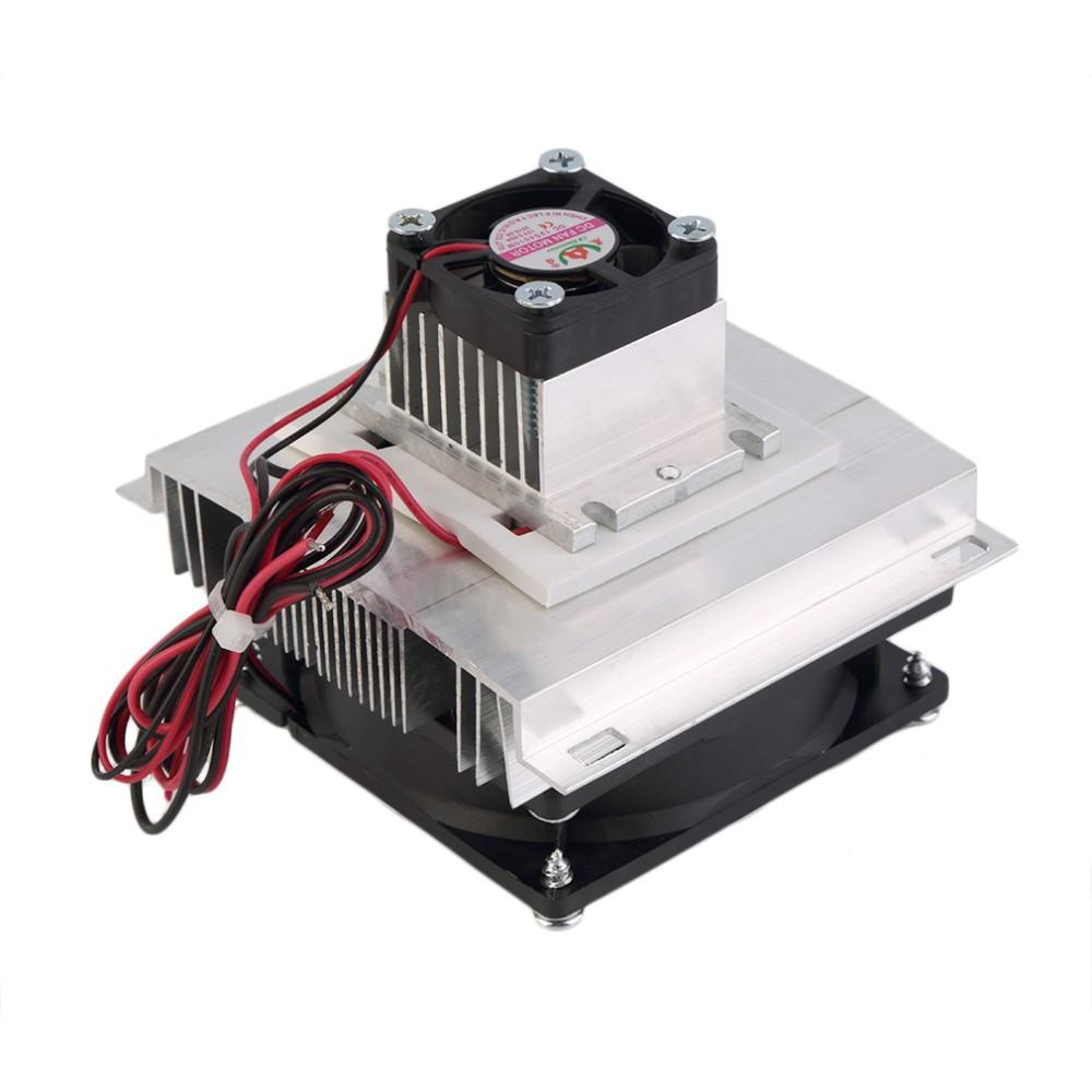 2019 Mini Pet Airconditioner Peltier Cooler Semiconductor Cooling Mini  Refrigerator Fan Finished Kit Computer Cpu Cooler