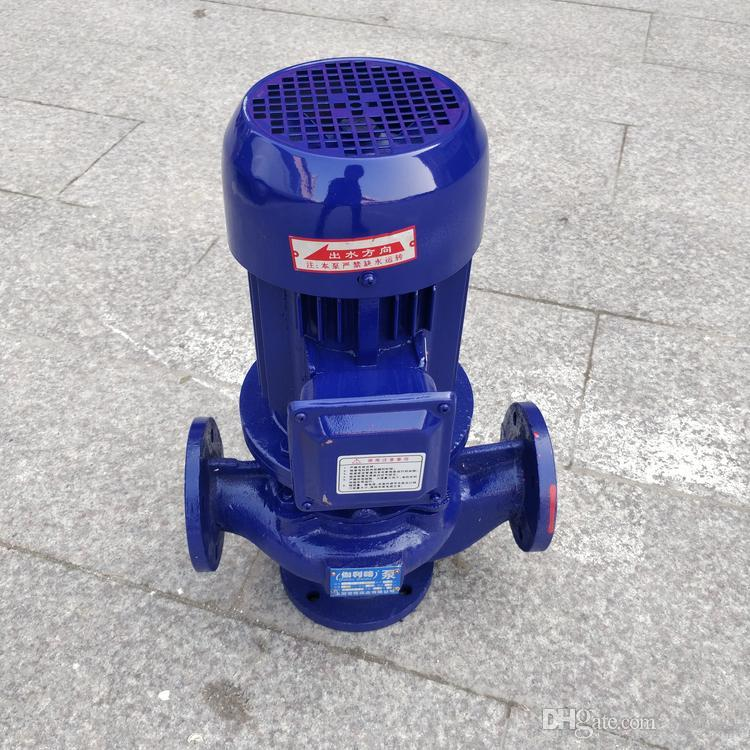 GW non-blocking pipeline sewage pump plumbing drain pump