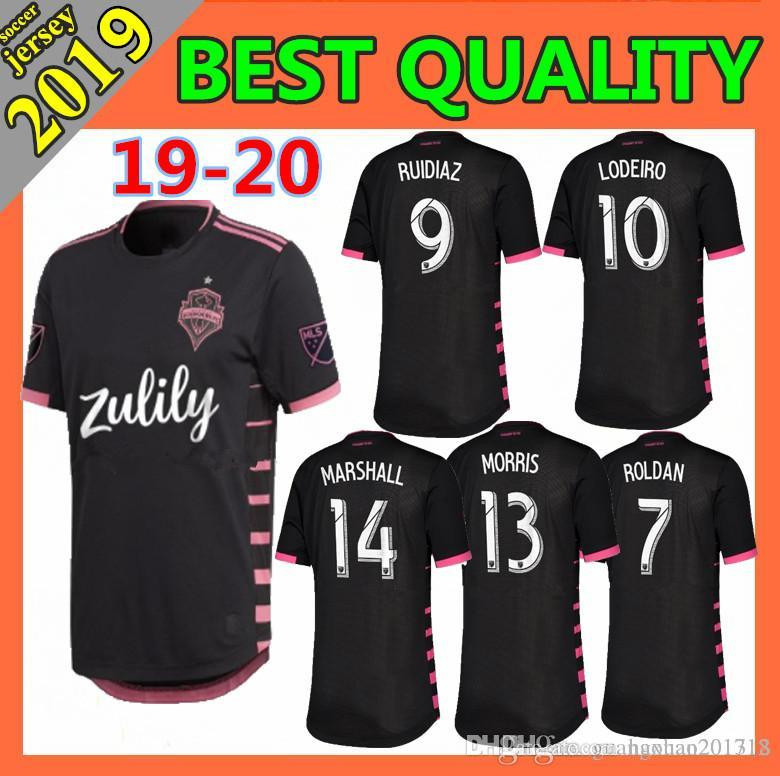 size 40 388bd 7f7d9 new 2019 Seattle Sounders soccer jersey 2019 2020 home DEMPSEY MARTINS  ALONSO LODEIRO TORRES football shirt