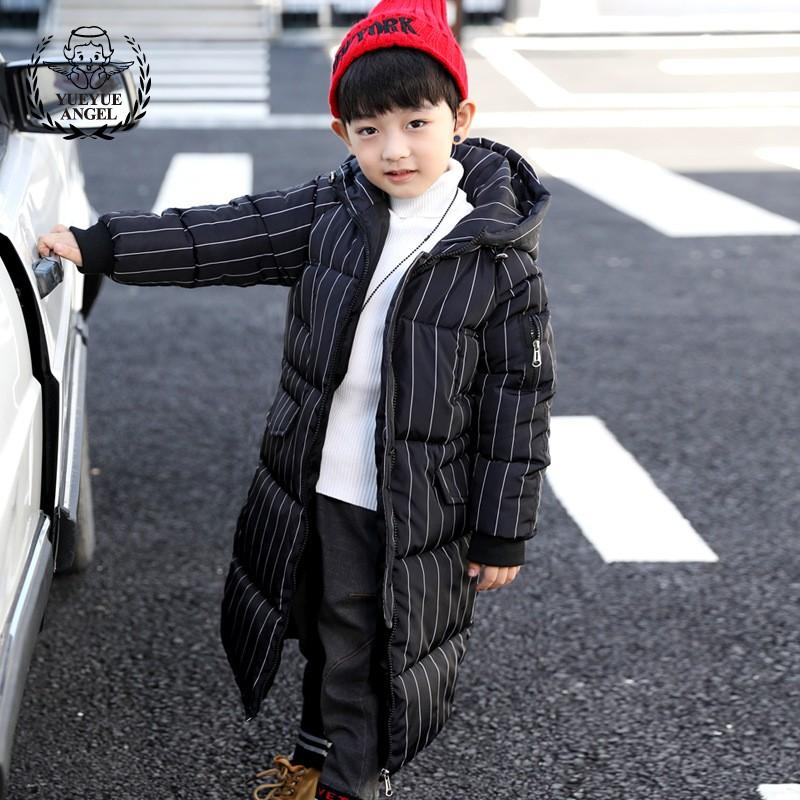 6d7fd4ad984 7 13 Year Old Boy Overcoat Thicken X Long Boys Winter Coat Overalls Winter  For Children Hooded Parkas Coats Boys Cotton Jacket Kid Coat Boys Wool  Coats From ...