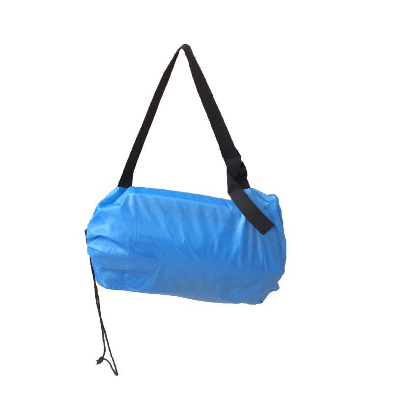Lazy Lay Sleeping Bag Fast Inflatable Camping Air Sofa Sleeping