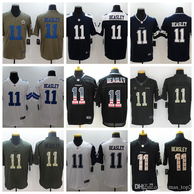 check out 5e4c9 47b0e 2019 New Mens 11 Cole Beasley Dallas Cowboys Football Jersey 100% Stitched  Embroidery Cowboys Cole Beasley #11 Color Rush Football Shirts