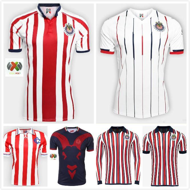 e6bf04e8b Compre 2018 CLUBE DO MUNDO CLUBE Chivas De Guadalajara Camisola 18 19 Home  Away 3 Chivas 110 Camisas De Futebol E. LOPEZ O.PINEDA A.PULIDO Camisa De  Futebol ...