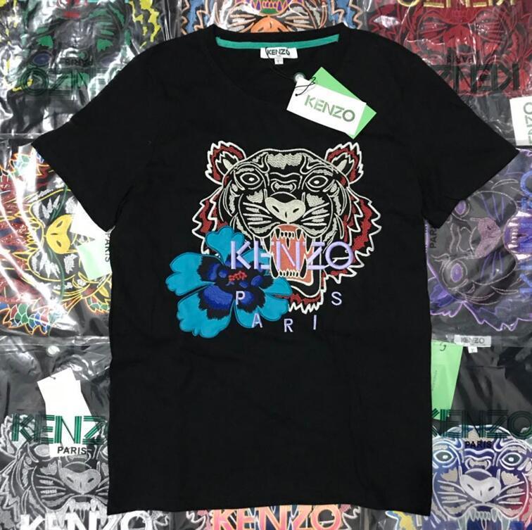 53fff524 Sweatshirts Designer Long Sleeve TigerT Shirts For Men Embroidery Hoodeis  Brand LLetter Top Women Autumn Spring Size S 2XL Kenzo Shirt T Shirts  Designs ...