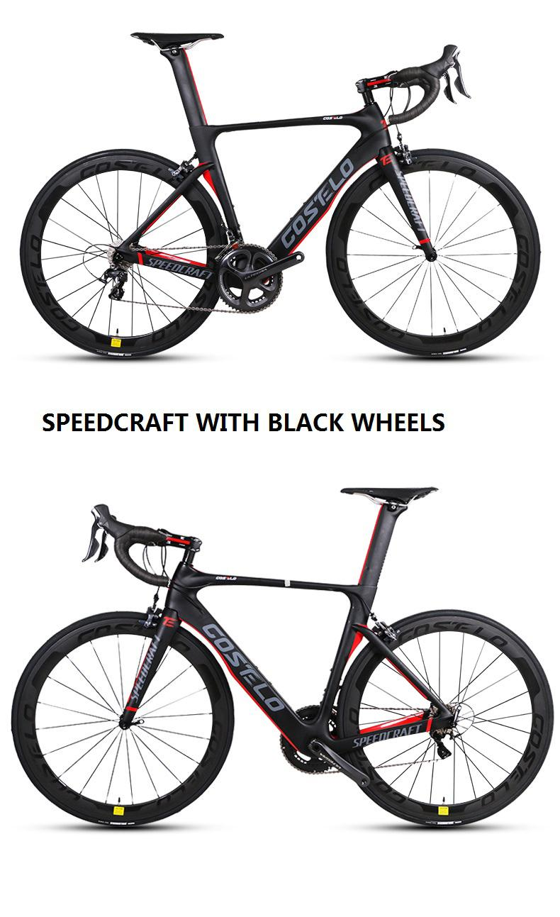 Carbon Fiber Road Bike >> Costelo Complete Bike Carbon Fiber Road Bicycle Bici Completa Bike