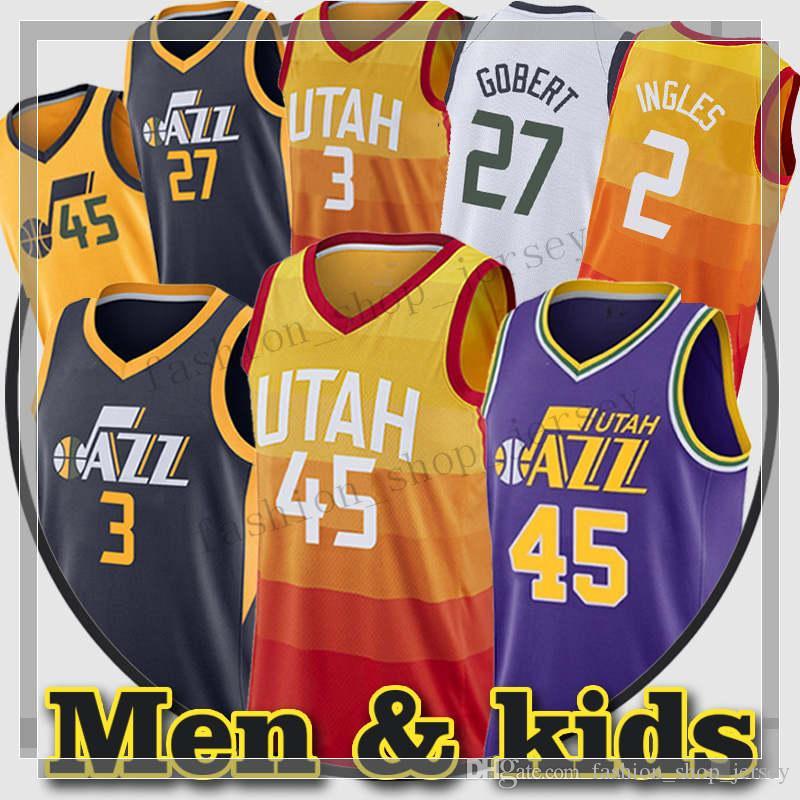 ... buy 45 donovan mitchell men 3 ricky rubio city jersey 2 joe ingles  youth 27 rudy 253502741