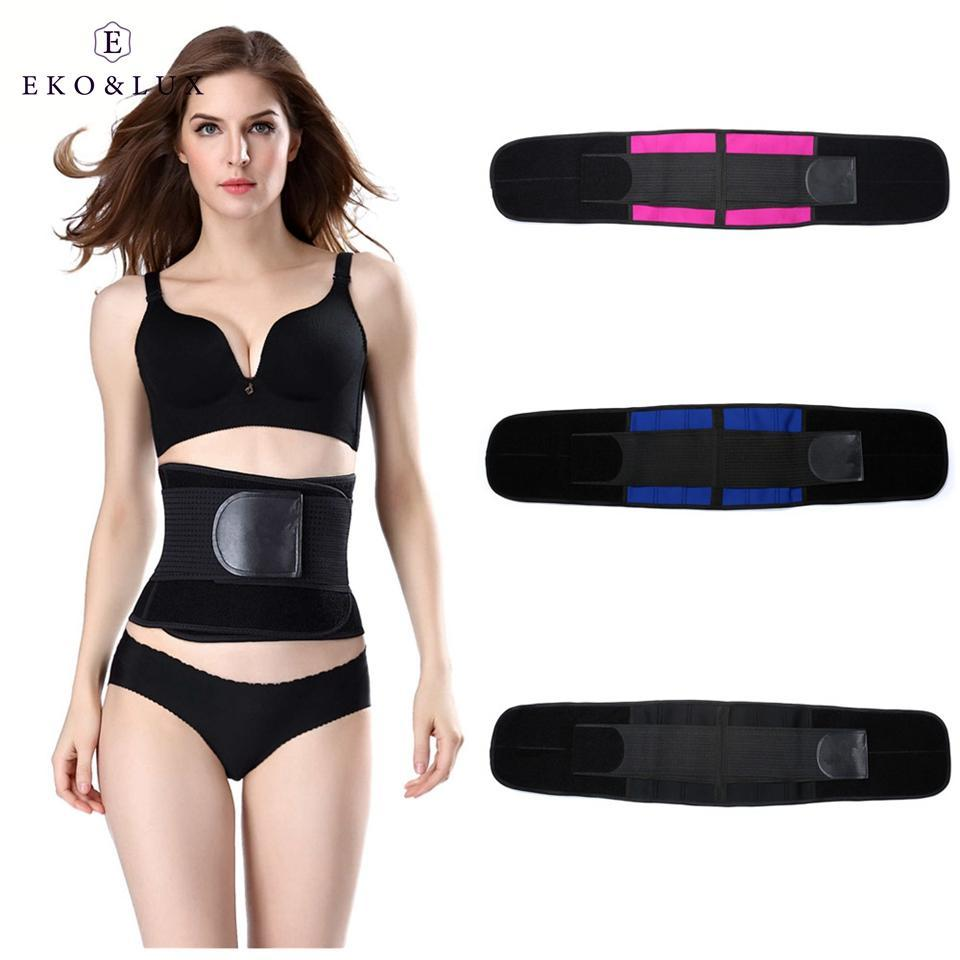 20ab21e95e EKO LUX Body Shapers Weight Loss Tummy Control Belts Waist Cincher Bodysuit  Waist Slimming Belt Shapewear Waist Trainer Corsets Online with   43.33 Piece on ...