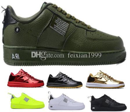 Hommes 1 One LF1 Forceing Casual Chaussures Sneakers 2019 Rouge Femmes Lunaire Forcé Utilitaire CanardBoot Skateboard Faible Skate Homme Chaussure Chaussures Classiques