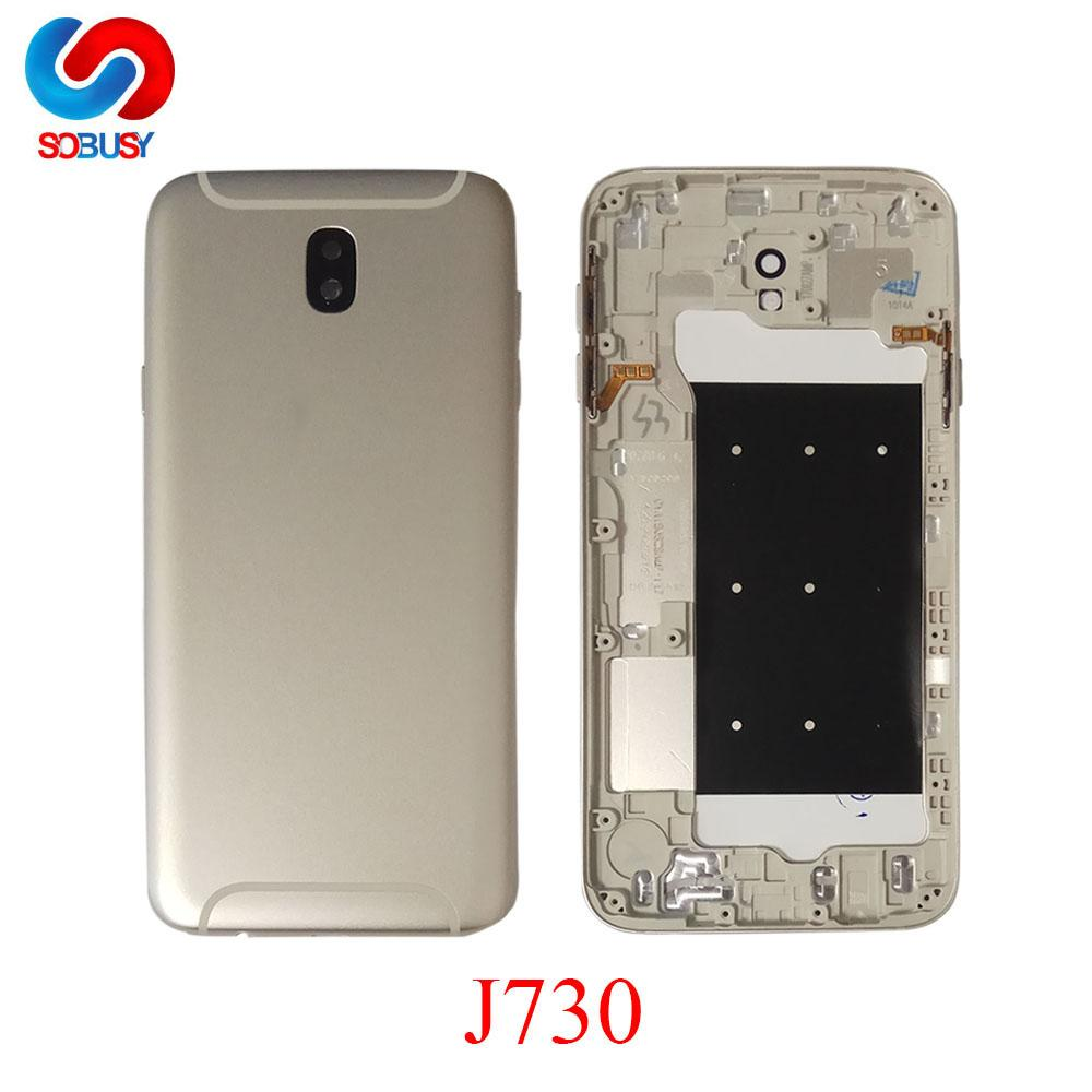 e3972f1264 For Samsung Galaxy J7 Pro 2017 J730 J730F SM 730F DS J730G Housing ...