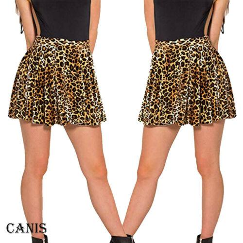 2e00c05c09 2019 Hot Sexy Women Polyester Skirt 2019 New Leopard Printed High Waist  Plaid Skater Pleated Short/Mini Skirt Dress Plus Size From Yingluo, $38.26  | DHgate.