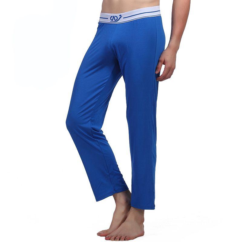 42705c32aec72c 2019 Pajamas Mens Sexy Sleepwear Breathable Cotton Pajamas Clothing ...
