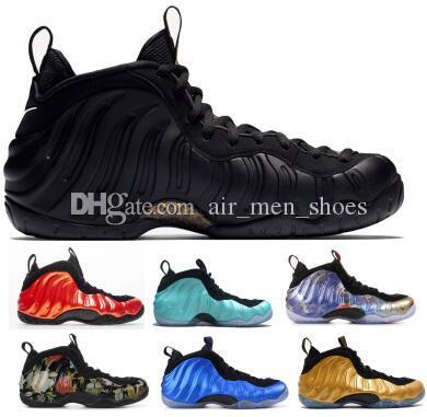 timeless design d7ec0 41a90 2019 Penny Hardaway 1 One Basketball Shoes Sneakers Habanero Denim Sequoia  Island Eggplant Mens Man Yellow Discount Foams Pro Basket Shoes Basketball  Shoes ...
