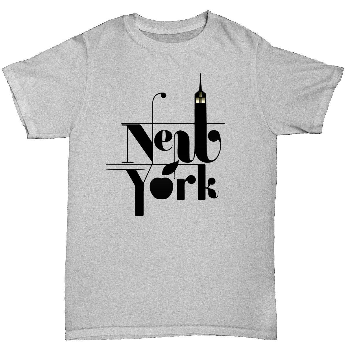New York Mens T Shirt Funny Humour Birthday Brookyn Usa Queens