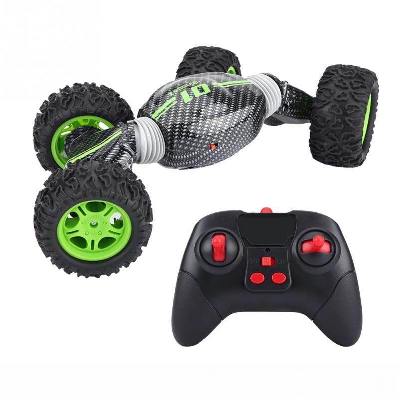 2.4GHz Rolling Remote Control Off-road Vehicle 4WD Deformation RC Crawler Car Double Side Driving RC Cars Toys for children Gift