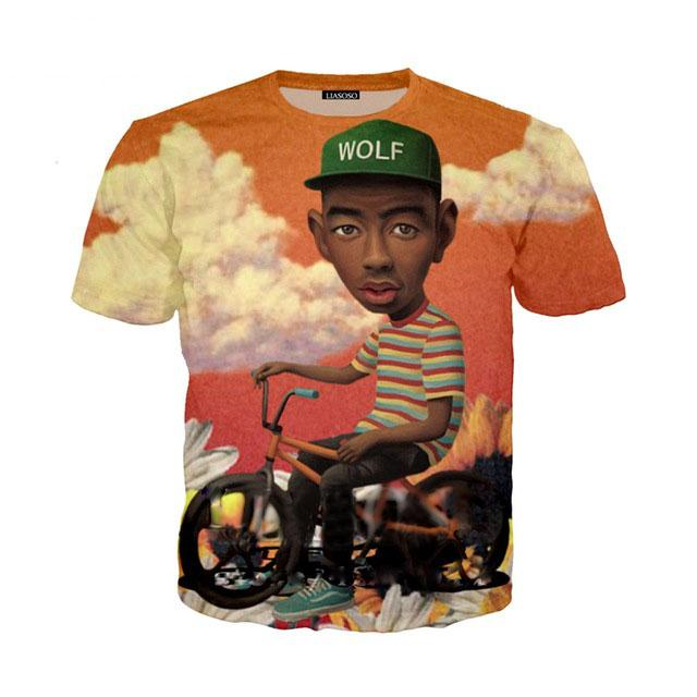 1f9e4ac79b8e 2019 Summer Style Tyler The Creator T Shirt 3D Printed Unisex Clothing Good  Quality O Neck Tee Shirts ZLQ02 Designs For T Shirts Awesome T Shirt From  ...