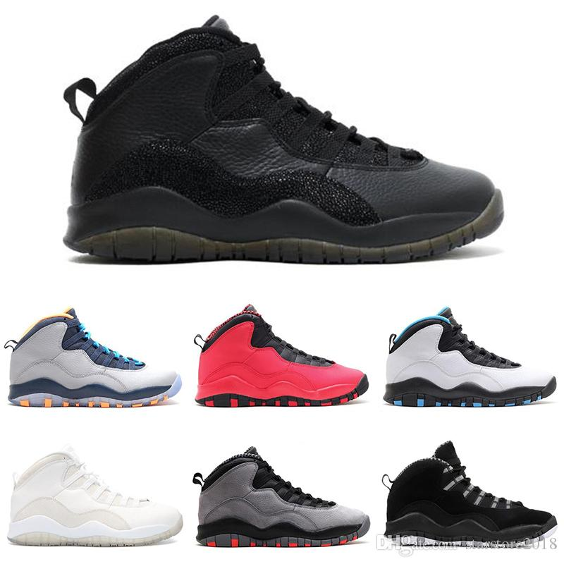eaf2c53bbaffca New 10 10s Cement Chicago I'm Back Men Basketball Shoes Thinker ...