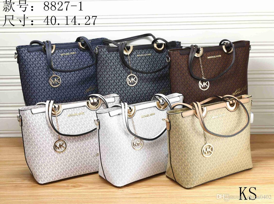 76ec730ad329 2019 new MK package Women's summer handbag Preparation of leather bags  Fashion style stripes Casual women's bag