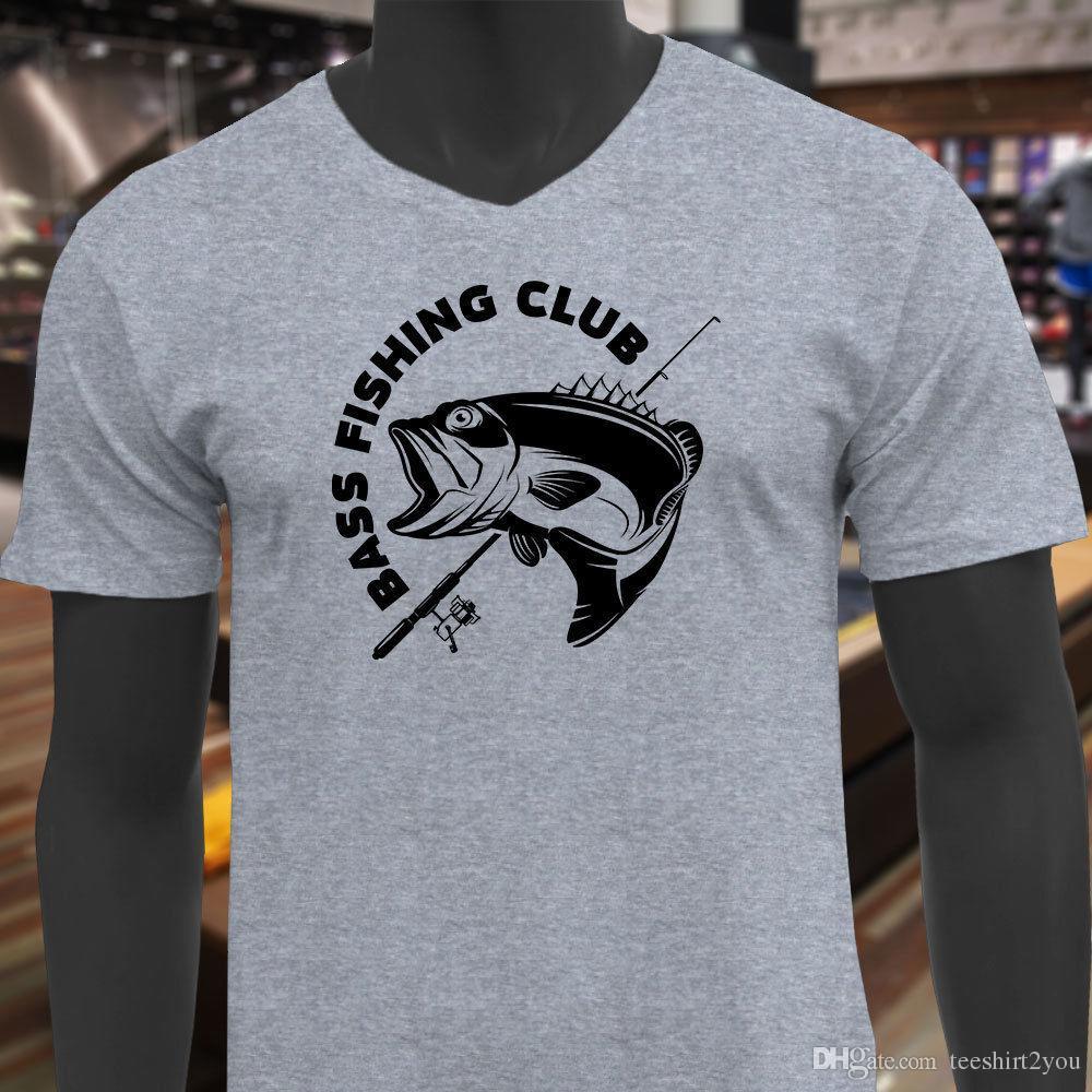 Bass Fishing Wholesale Fish Sport Wholesale T Shirt T Shirt Mens