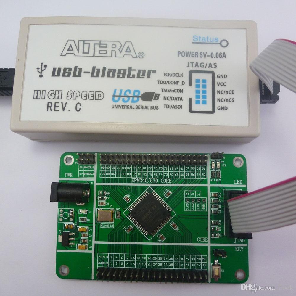 Freeshipping EPM240 ALTERA Core FPGA CPLD Development Core Board JTAG & USB  Blaster Download