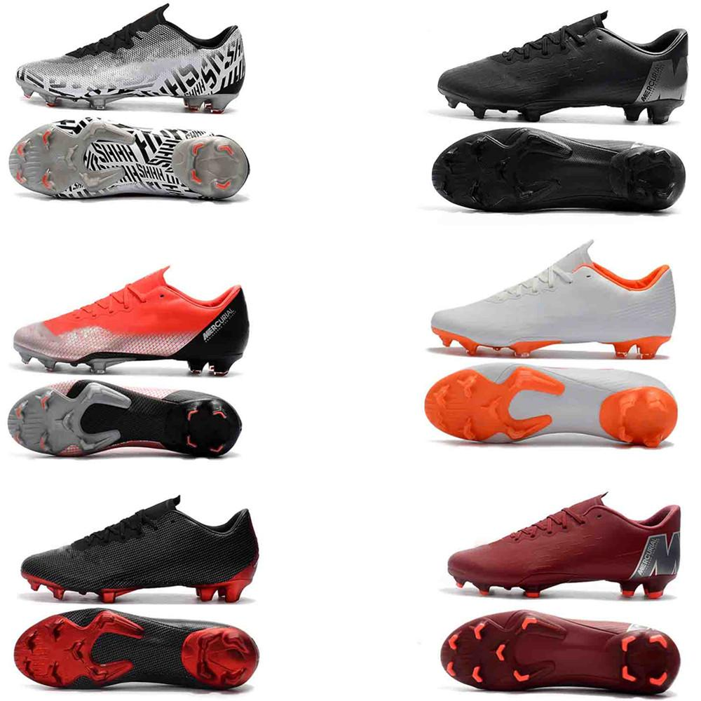 54c1dea8c78 2019 2018 New Mens Mercurial Superfly VI 360 Elite Ronaldo FG CR Soccer  Shoes World Cup XII PRO FG35 45 Football Boots High Ankle Soccer Cleat From  ...