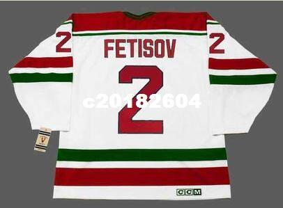 2019 Men  2 VIACHESLAV FETISOV New Jersey Devils 1991 CCM Vintage RETRO  Home Hockey Jersey Or Custom Any Name Or Number Retro Jersey From  C20182604 e91d3e90627