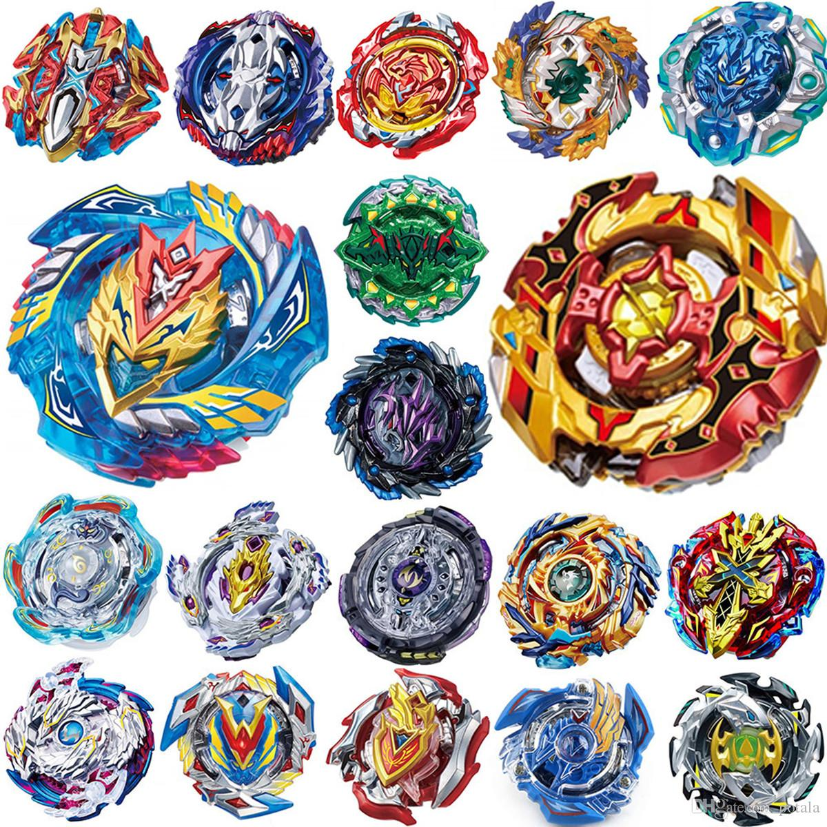 30 Patterns Beyblade WITH Launchers Burst Toys Arena 4D Bey blades Toupie 2019 Bayblade Metal Fusion Battles Constellation Spinner boys fun
