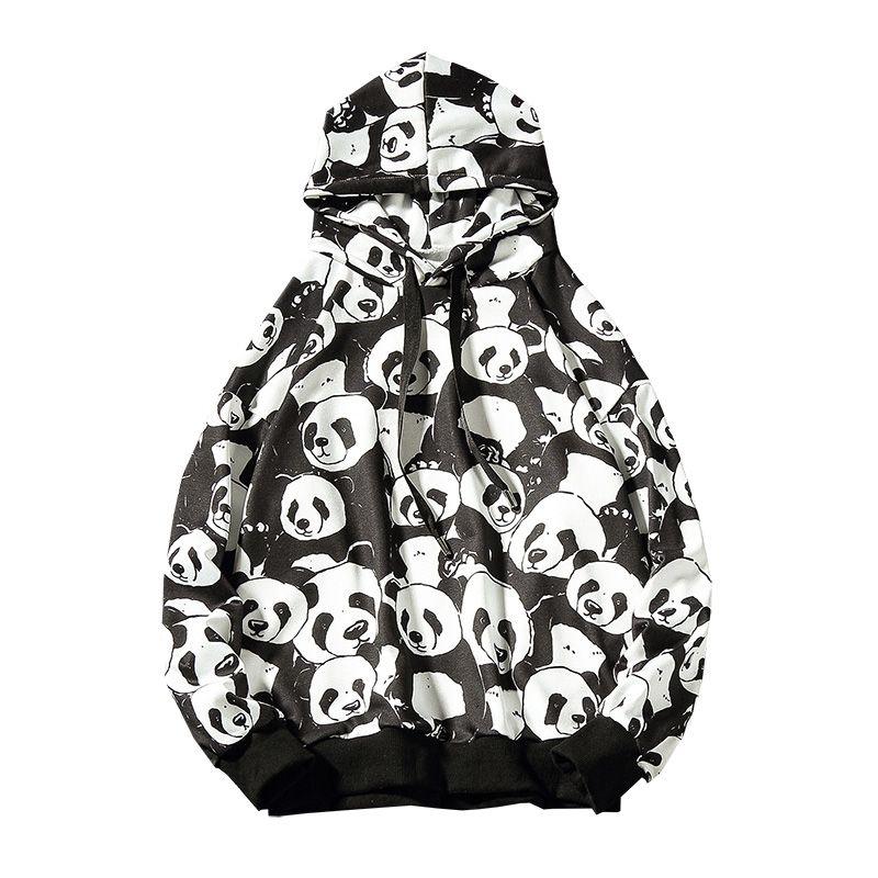 Compre Harajuku Sudadera Con Capucha Para Hombre Sudadera Con Capucha Hip  Hop Imprimir Estampado De Dibujos Animados Hombres Streetwear Fleece  Pullover ... 51eb36558f0