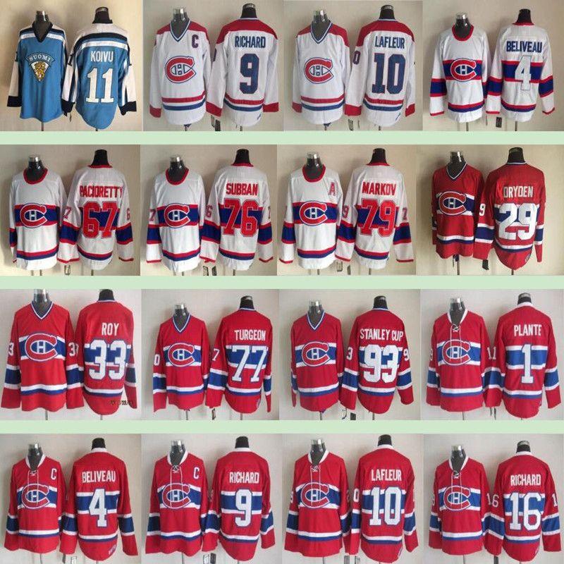 pretty nice 977b5 dd8b9 Montréal Canadiens Winter Classic #31 Carey Price 6 Shea Weber 67 Max  Pacioretty 92 Jonathan Drouin Men Ice Hockey Jersey