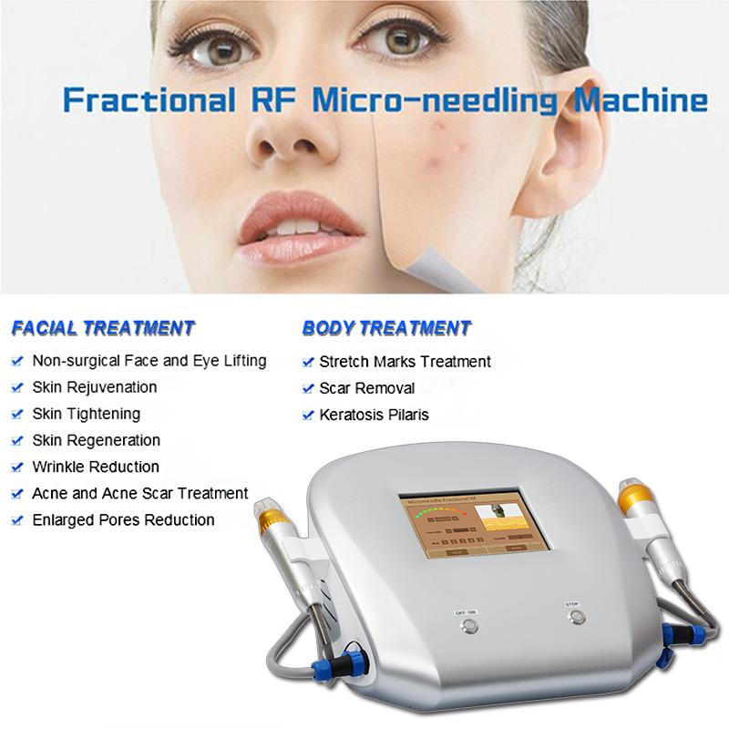 Fractional rf spa equipment rf fractional micro needle facial machines home use fractional rf microneedle machine drs dermaroller