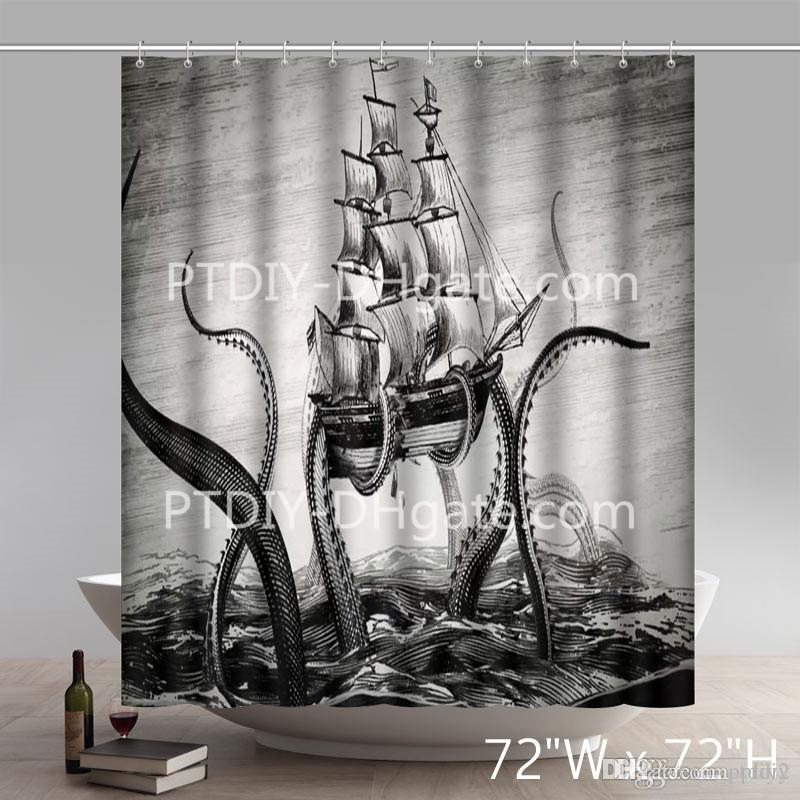 Cheap Printing Shower Curtains Best Skull