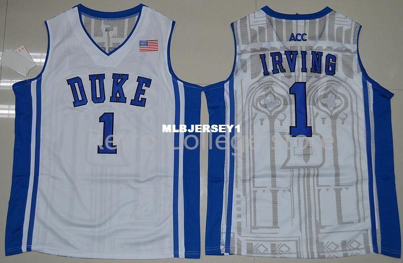 de5ae032432b 2019  1 Kyrie Irving Jersey Duke Blue Devils Top Jers Retro Top Jersey New  Material Top Quality Embroidery Jersey Vest Jerseys Baseball From  Mlbjersey1
