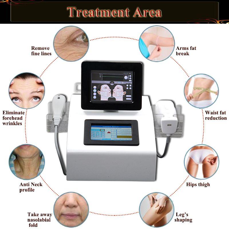 Macchina portatile il dimagrimento del corpo di Liposonix uso del salone di casa Macchina la rimozione delle rughe focalizzata ad alta intensità hifu ultrasoud