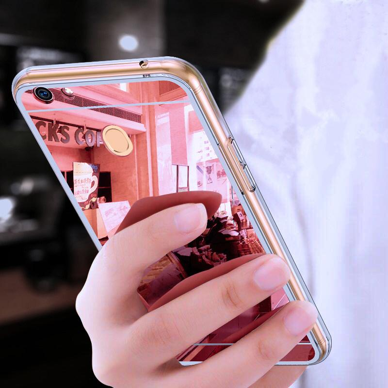 save off b006d 5a2d5 soft tpu Mirror Plating phone case For OPPO A73 F5 Youth R9 R9s R11 R11s  Plus Gold Clear Transparent TPU Silicone back Cover