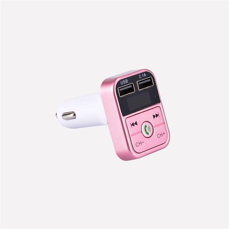 B2 Bluetooth Adaptateur Chargeur Lecteur MP3 Radio Car Kits Transmetteur FM Voiture Bluetooth mains libres Bluetooth kit de musique casque