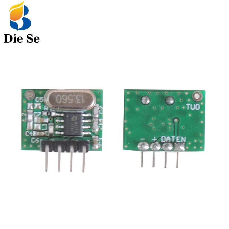 433 mhz RF Wireless Transmitter RF remote control Module Small Size Low Power for remote control adruino DIY Controller