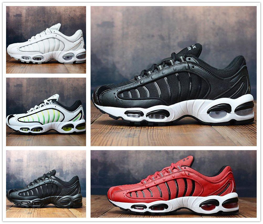sports shoes 03ba1 d0882 Acheter Nike Air Max Tailwind IV Nouvel Air Tailwind IV MV Blanc Chaussures  De Course Pour Hommes Baskets De Marque Green Tailwind IV Sneakers 40 45 De  ...
