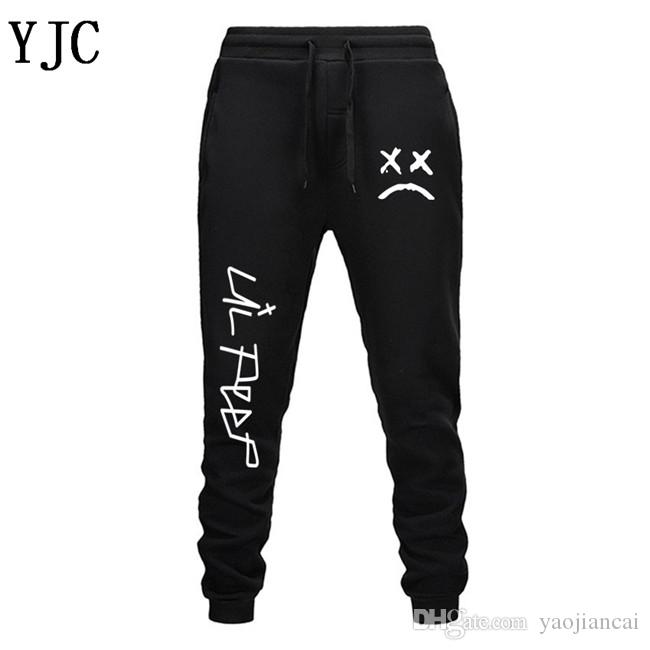 Free Shipping Lil Peep Pants Hip Hop Loose Sweatpants Men/Women Gyms Pants Trousers Casual Jogger Pants Jogger EL-1