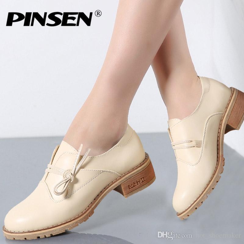 Plataforma Zapatos Creepers11214 De Casuales Primavera Mujer Pinsen Señoras Pisos Up Para Lace 2019 l1J3KcTF