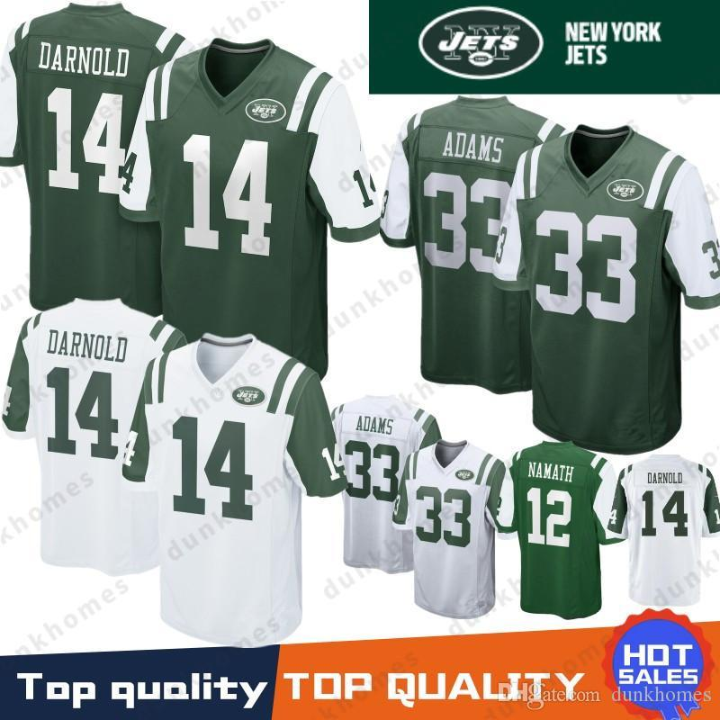 57c534ccb25 2019 14 Sam Darnold Jets Jerseys 33 Jamal Adams 12 Joe Namath 11 Robby  Anderson Jersey 2019 New Top Quality 100% Stitched Jerseys From  Susan_sports, ...