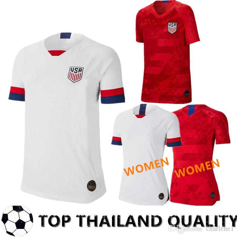 75f421273 2019 Gold Cup 2019 America Home Away USA Soccer Jersey 2019 Copa ...