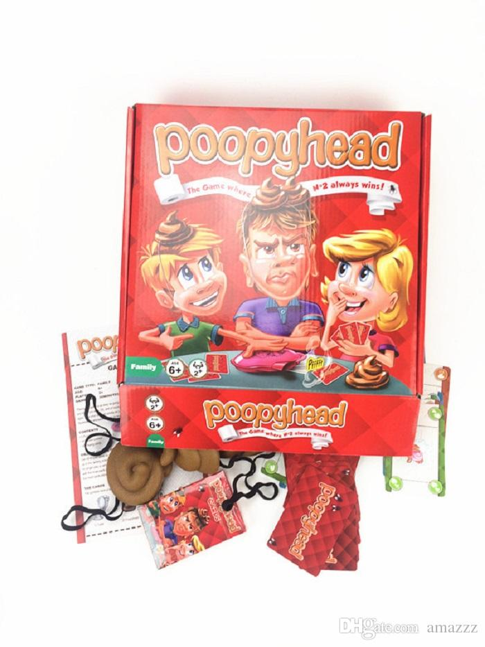 10set Poopyhead Card Games The Game Where Number 2 Always Wins Family Party Fun Board Games Tricky Toys Hot