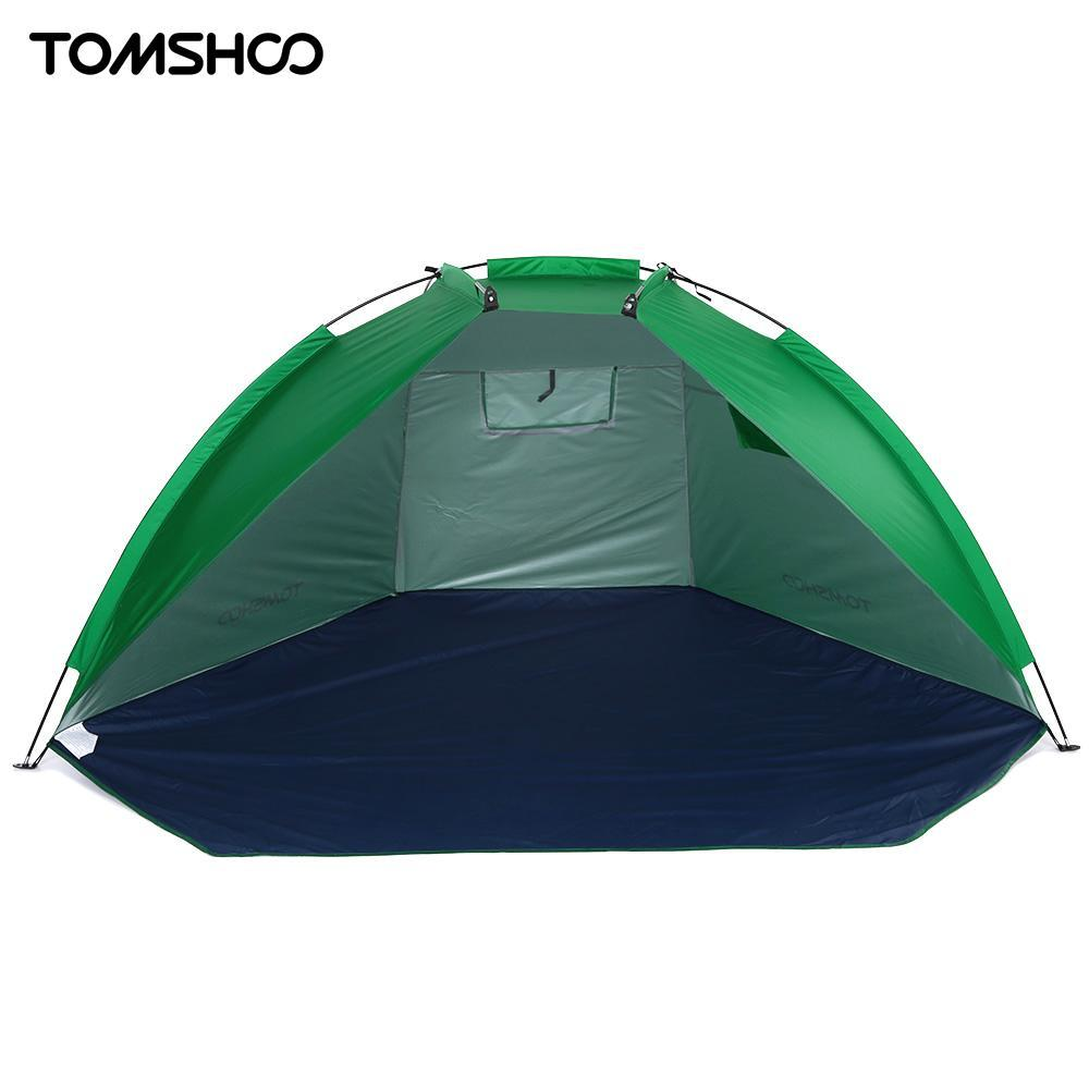 7fef29ec6412 TOMSHOO 2 Persons Outdoor Beach Tents Shelters UV Protecting Summer Tent  Sports Sunshade Camping Tent For Fishing Picnic Park Tents For Camping  Cheap Tents ...