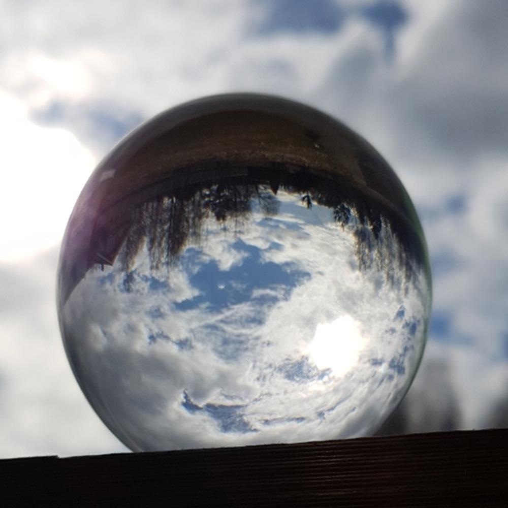 Kristallkugel Kugel 60mm Mit Ständer Fotografie Linsenkugel Hintergrund Dekor K9 Glasklare Linsenkugel