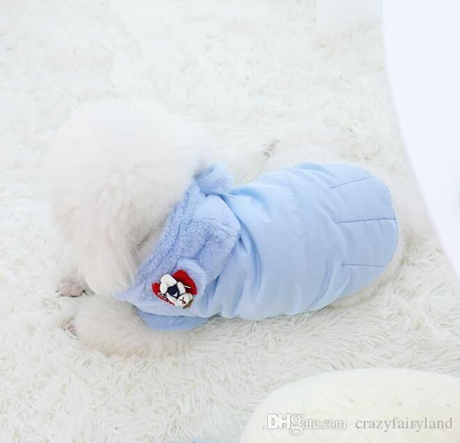 Pet Fleece Clothes For Dog Winter Warm Thick Small Dog Clothes