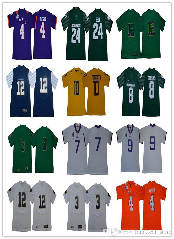 8747fc35c NACC LSU Tigers 3 Odell Beckham Jr.7 Leonard Fournette 9 Joe Burrow ...