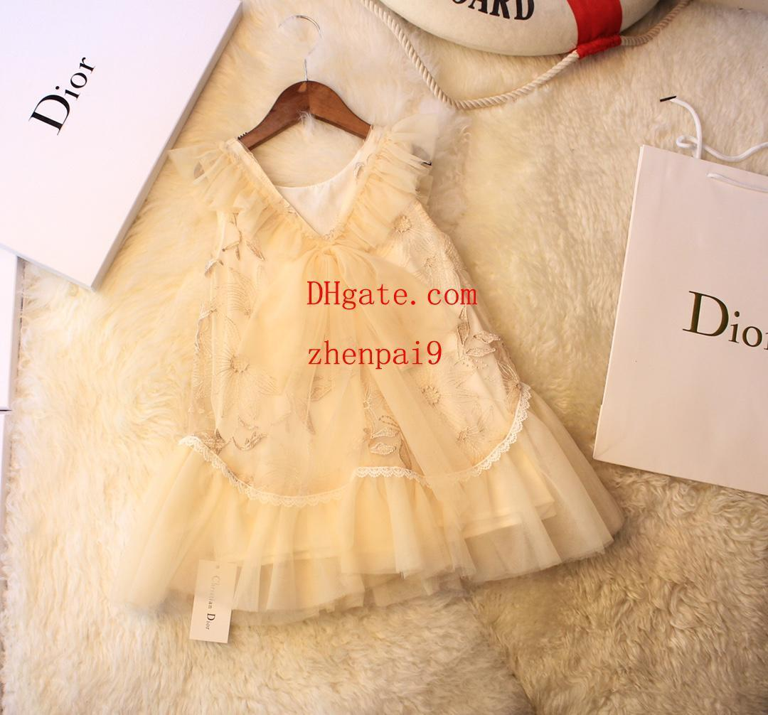girls dresses Little Girls Princess Summer Children Kids princess dresses Casual Clothes Kid Trip Frocks Party Costume kids clothes girls56