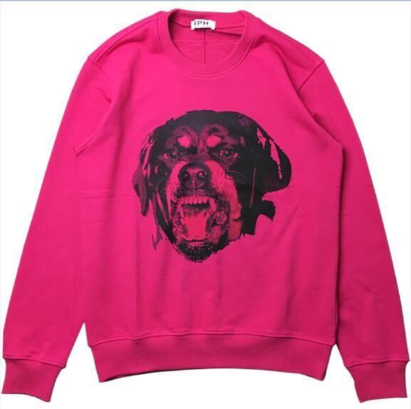 5f43550894f1 2019 2018 Hot Sell New Fashion Brand Men S Women S Coat Jacket 3D Dog S  Head Printing Sweater Men Hoodies Casual Sports Long Sleeve Sweatshirt From  ...