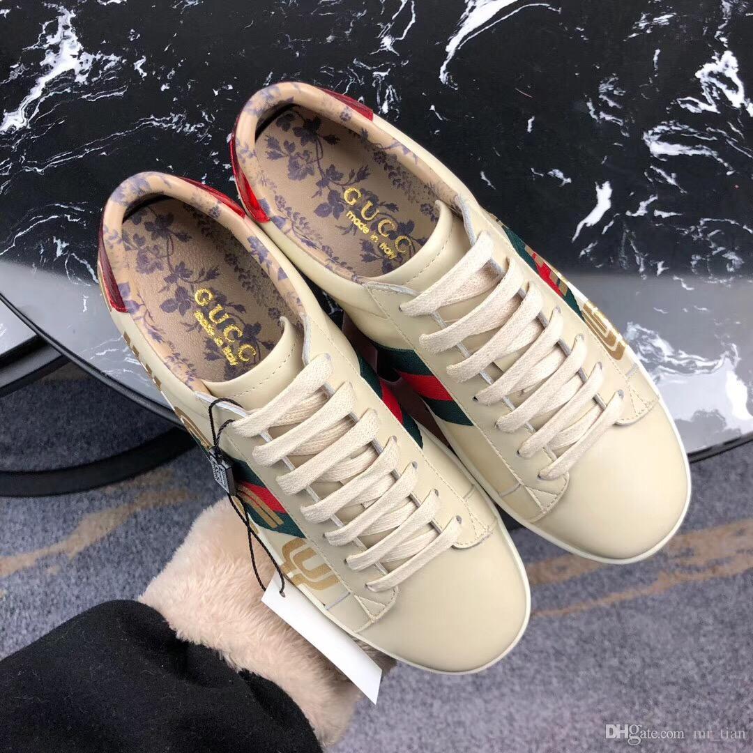 superior quality 12527 6f1ab GUCCI Caro Diseño De Moda De Marca Italiana 2019, Zapatos Casuales De Lujo,  Zapatos De Moda Para Hombres Y Mujeres, Euros De Alta Calidad 35 45 Por  Mr tian, ...