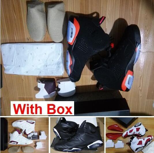60fc96984d8815 2019 6 Black Infrared 6S VI Black 6 Infrareds Black Legend UNC Blue MAROON 6  Cement Wholesale Basketball With Box Shoes Women Basketball Shoes Men ...