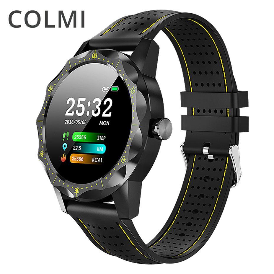 e83af8db9dff Celulares Baratos COLMI Sky 1 Reloj Inteligente Pulsera De Fitness Reloj  Monitor De Ritmo Cardíaco IP68 Hombres Mujeres Reloj Deportivo Smartwatch  Para ...